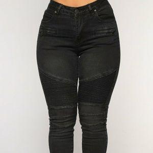 Moto skinny jeans